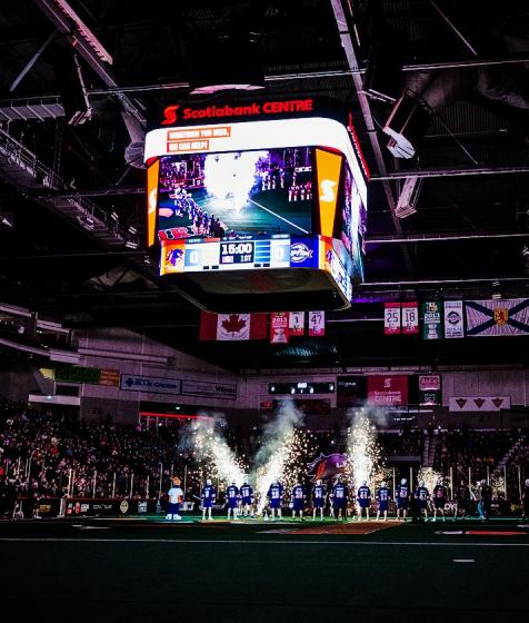 Halifax Thunderbirds home opener at Scotiabank Centre